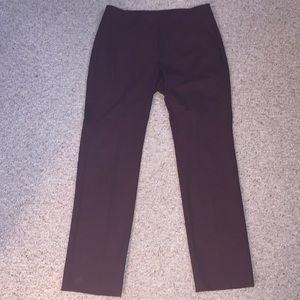Ann Taylor Burgundy pants